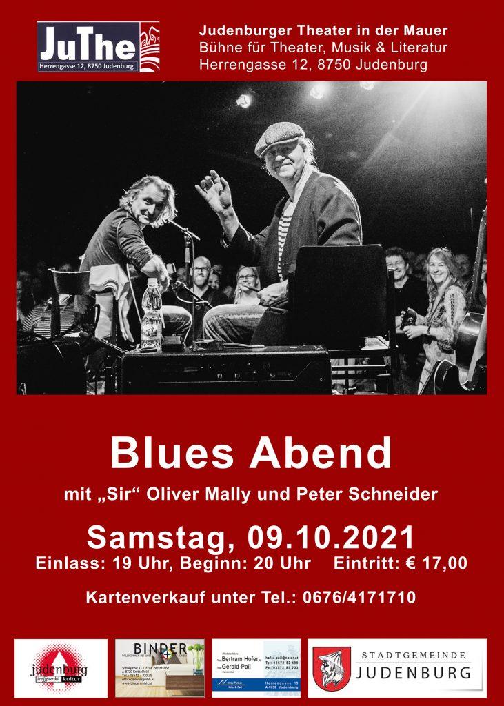 Blues Abend 2021 im JuThe